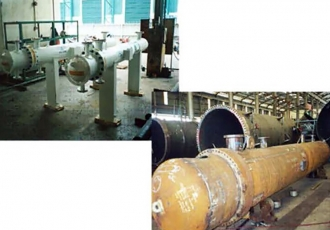 Shell and Tube Heat Exchangers (Larut A Central Processing Platform, Teregganu Offshore, Malaysia)