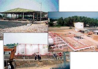 Bintulu LPG Bottling Plant Project for Petronas Dagangan Berhad