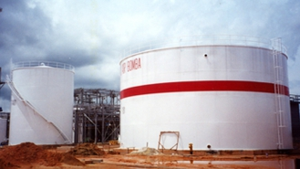 Flexsys Cap Field Erected Tanks for Flexsys CAP 2 Project for Stone & Webster Services Sdn Bhd